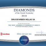 Diamonds of the Greek Economy 2018